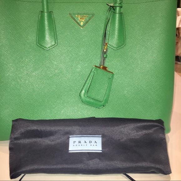 679c59bf508e Prada Saffiano Leather Cuir green handbag. M_5ac2ca939a94556d7b68c61f